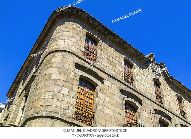 Architecture in the city of La Coruña, Galicia, Spain