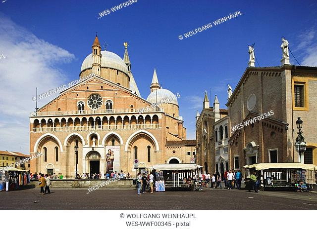 Italy, Padua, Basilica of Saint Anthony of Padua
