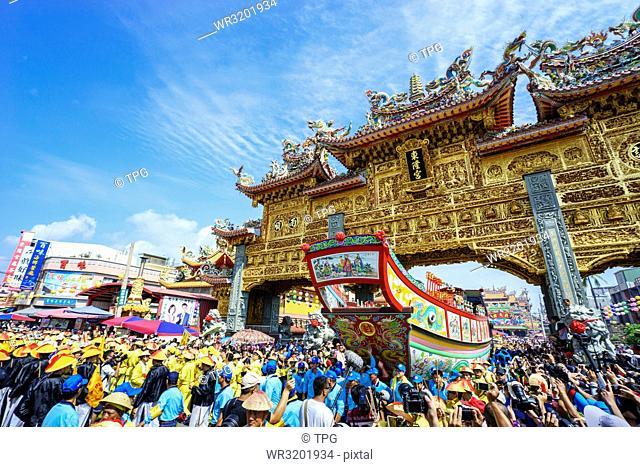 Donggang King Ship--Donggang Donglong Temple Welcome King Peace Festival