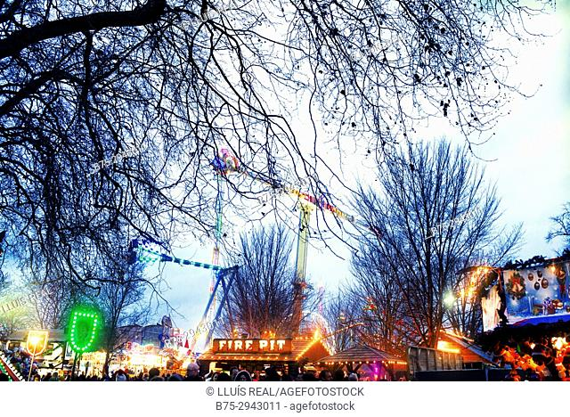 Winter Wonderland. Hyde Park, London, England