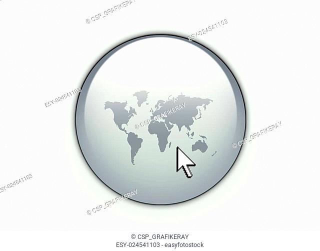World web Button
