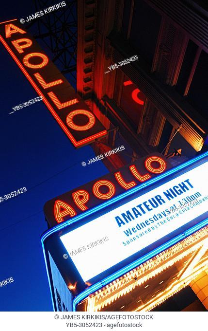Amateur Night, Apollo Theatre, Harlem, New York