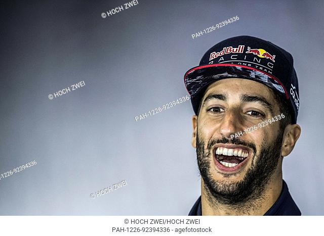 Motorsports: FIA Formula One World Championship 2017, Grand Prix of Great Britain, #3 Daniel Ricciardo (AUS, Red Bull Racing)