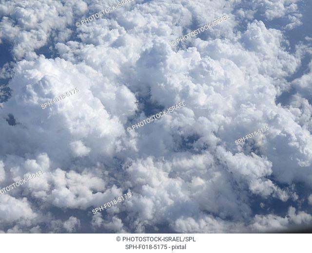 Cloudscape on a blue sky