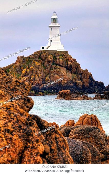 La Corbiere lighthouse, St Brelade, Jersey, United Kingdom