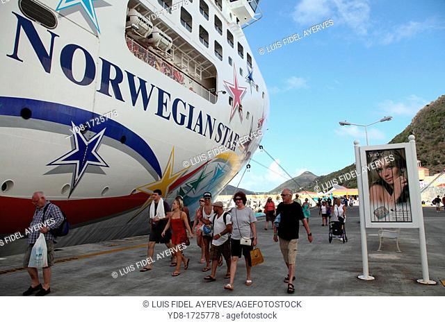 Norwegian Star, Transatlantic, St Maarten Island