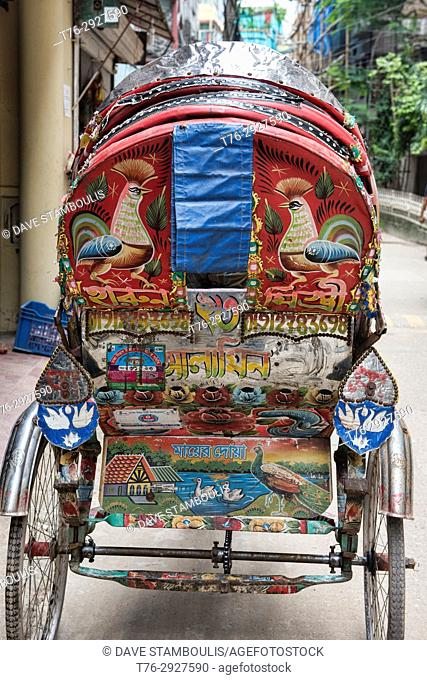 Rickshaw art, Dhaka, Bangladesh