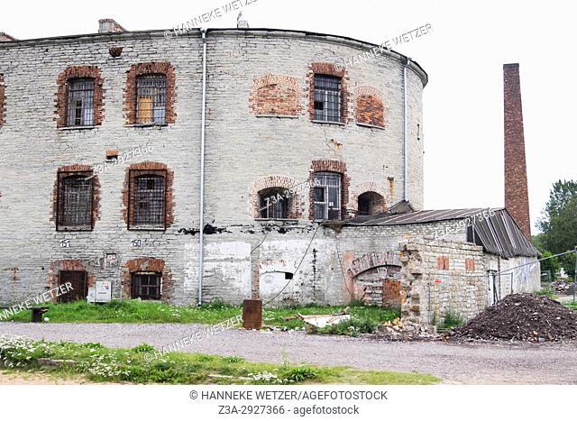 Old prison in Tallinn, Estonia, Europe