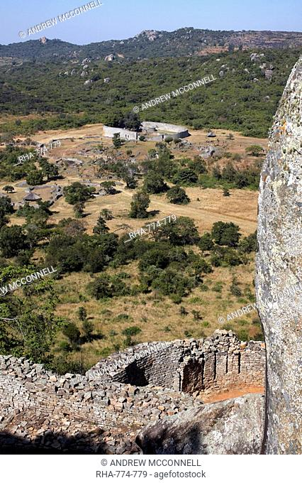The ancient ruins of Great Zimbabwe, UNESCO World Heritage Site, Zimbabwe, Africa