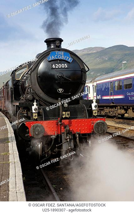 Europe  United Kingdom  Scotland  The Highlands  Fort William  Jacobite Steam Train