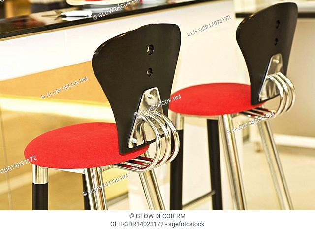 Chairs in the kitchen