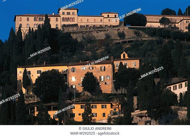 europe, italy, tuscany, fiesole