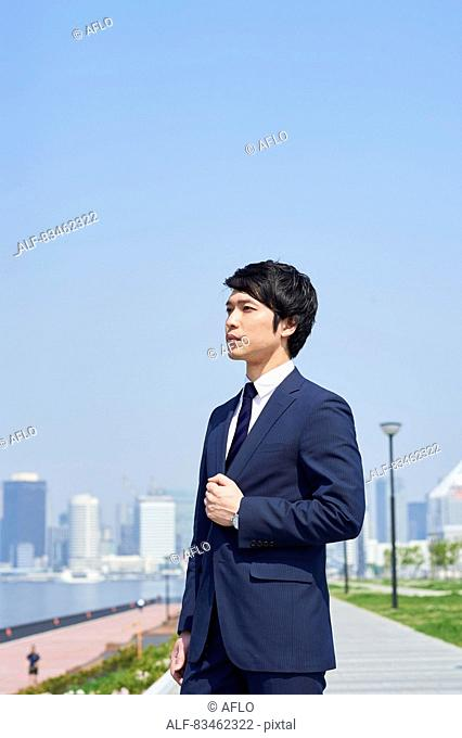 Japanese businessman