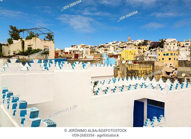 Medina, old city Tangier. Morocco Africa