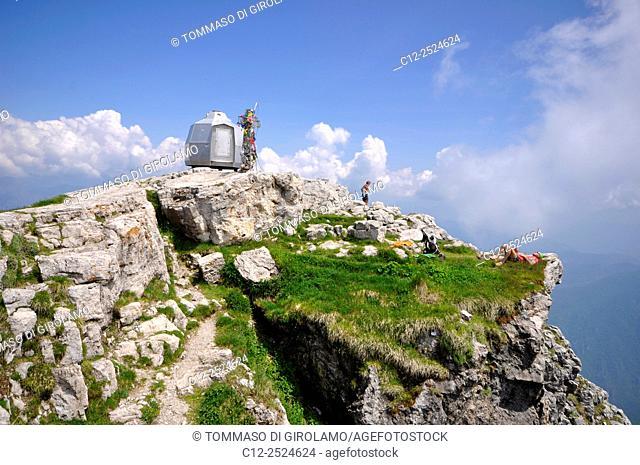 Italy, Lombardy, Grignetta mount, Peak