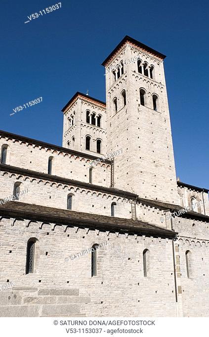 Romanesque church of San Abbondio, Como, Lombardy, Italy