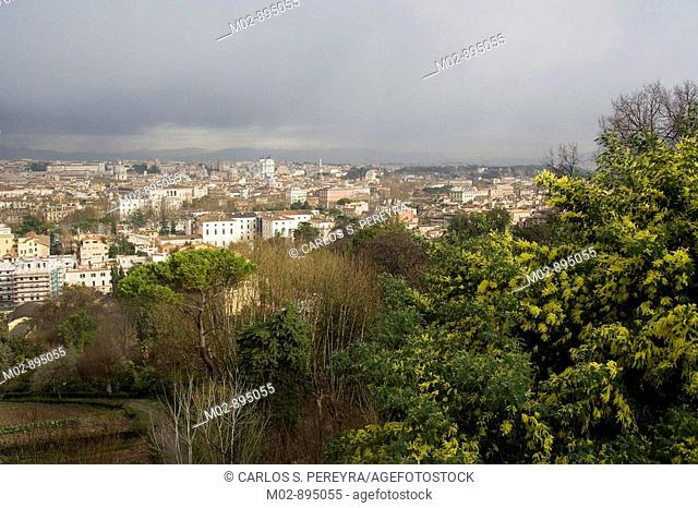 View of Rome from Monte Giamicolo