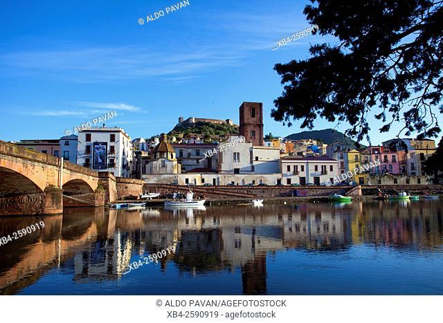 Temo river, Bosa, Sardinia, Italy