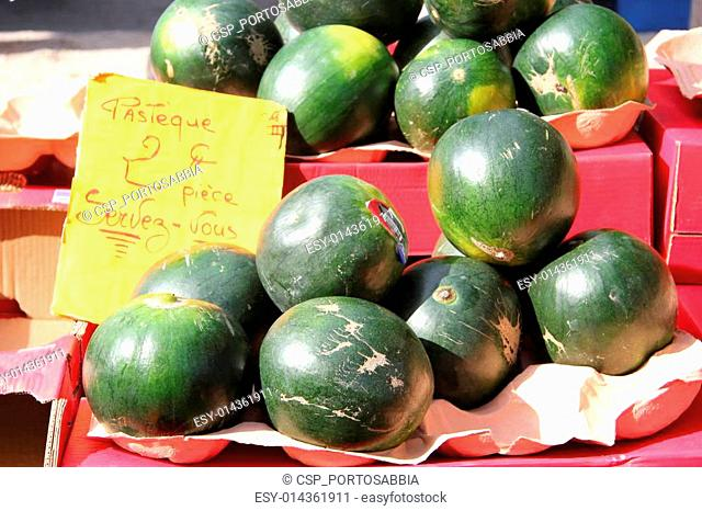 Green melons