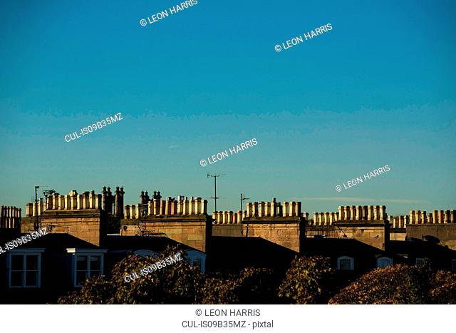 Rooftops of Edinburgh, Scotland