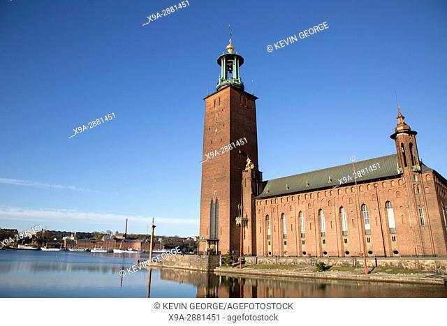 City Hall - Stadshuset, Stockholm; Sweden; Europe