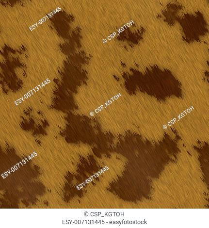 Spotted animal skin fur