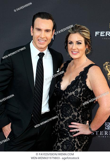 69th Los Angeles Area Emmy Awards Featuring: Peter Daut, Kelly Rogers Where: Los Angeles, California, United States When: 23 Jul 2017 Credit: FayesVision/WENN