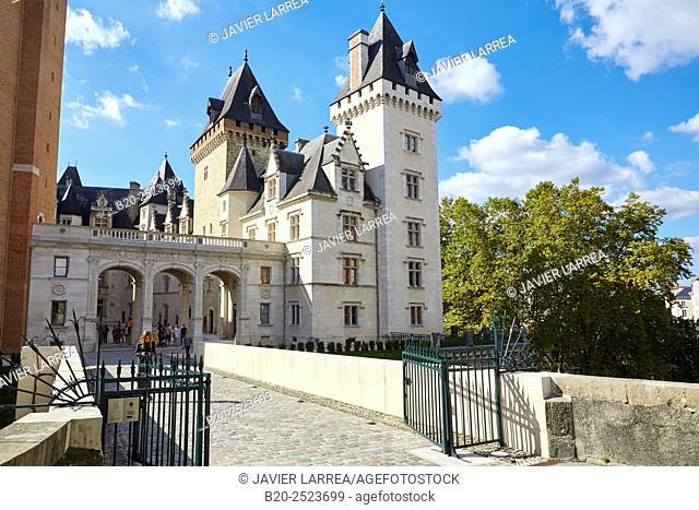 Chateau de Pau (Pau Castle), Pau, Pyrenees - Atlantiques, Aquitaine, France