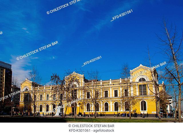 Chile, Santiago, University of Chile, Libertador General Bernardo O«Higgins Avenue