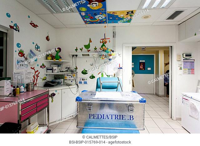 Main office of the paediatric service in an hospital. Aix en Provence