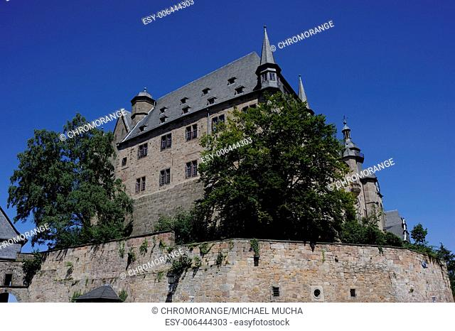 Castle, Marburg, Hesse, Germany, Europe