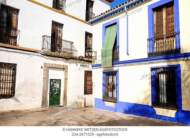 Traditional housing in Cordoba, Spain, Europe