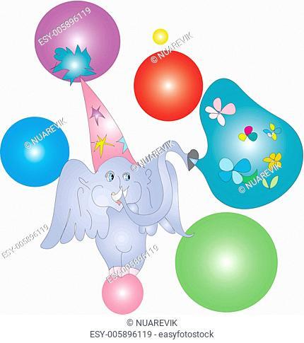 Birthday's elephant