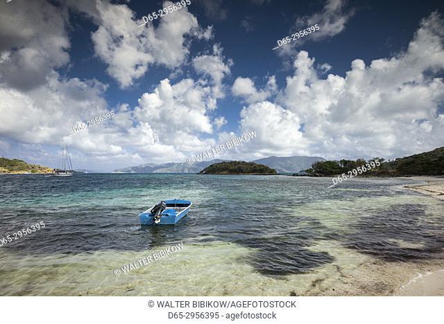 British Virgin Islands, Jost Van Dyke, Long Bay, seascape