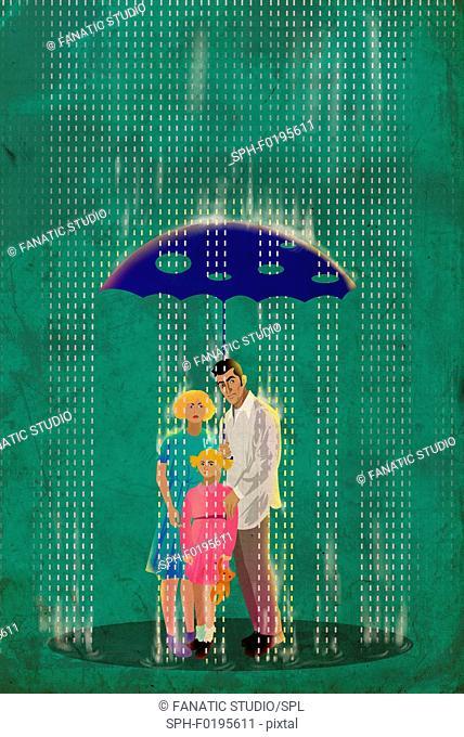 Inadequate insurance, illustration