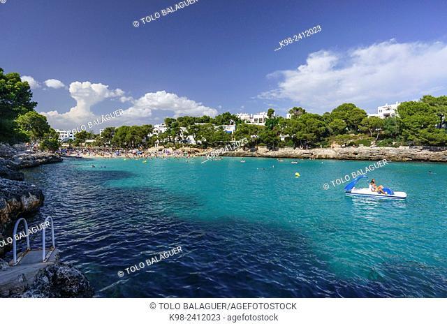 Cala Gran, Cala D'Or, municipio de Santanyi,islas baleares, Spain