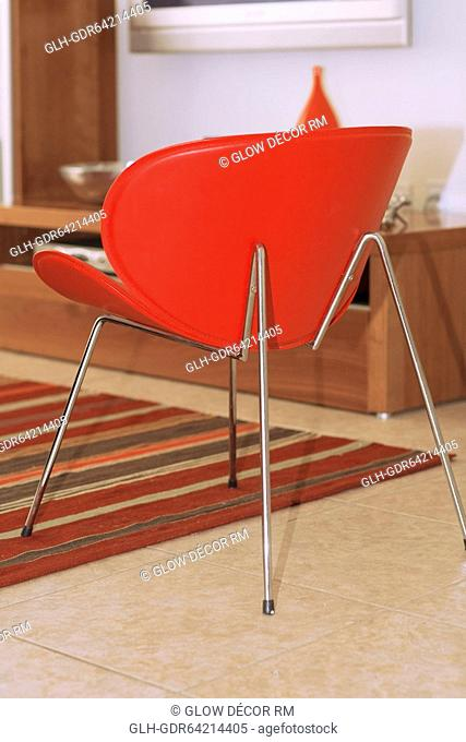 Chair in a living room