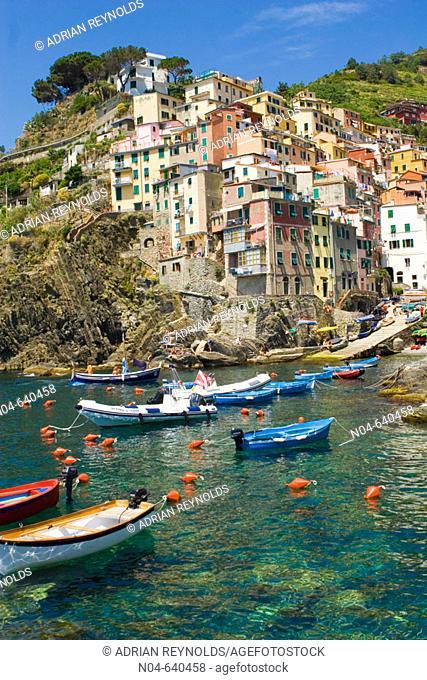 Riomaggiore. Cinque Terre. Italy