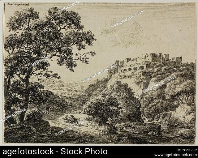 Travellers on the Highway - Anthoni Waterlo Dutch, 1609-1690 - Artist: Anthonie Waterloo, Origin: Holland, Date: 1630–1690, Medium: Etching on paper