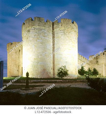 Castle (15th century), Puebla de Sanabria. Zamora province, Castilla-León, Spain