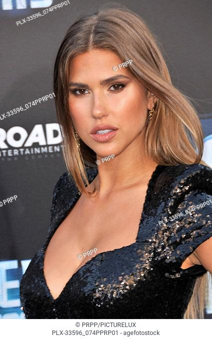 "Kara Del Toro at the """"Hotel Artemis"""" Los Angeles Premiere held at the Bruin Theater in Los Angeles, CA on Saturday, May 19, 2018"
