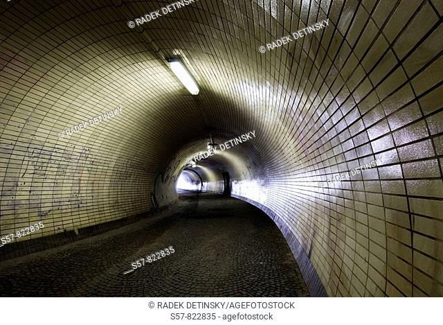 Light at the End of the Tunnel, Prague, Czech Republic