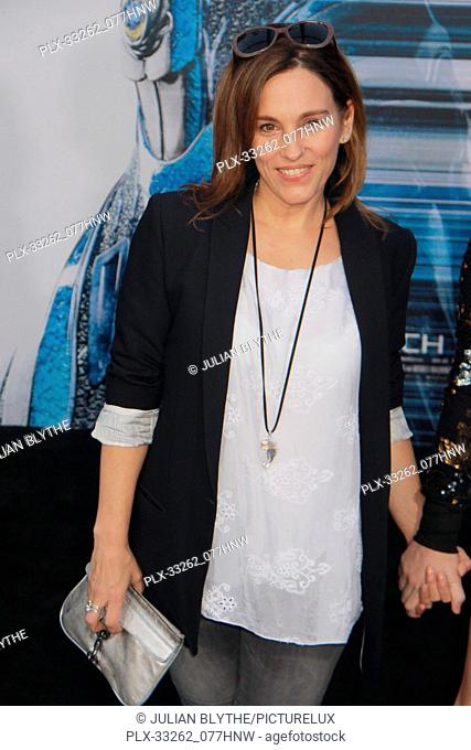 """Amy Jo Johnson 03/22/2017 """"""""Power Rangers"""""""" Premiere held at the Westwood Village Theater in Westwood, CA Photo by Julian Blythe / HNW / PictureLux"""