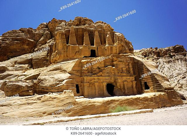 Petra. New 7 Wonders of the World. Jordan