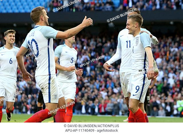 2016 International Football Friendly England v Turkey May 22nd. 22.05.2016. Etihad Stadium, Manchester, England. International football friendly match