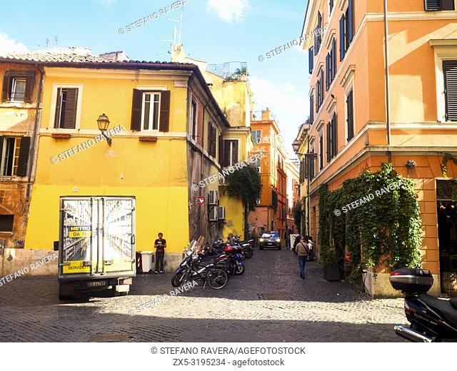 Trastevere - Rome, Italy