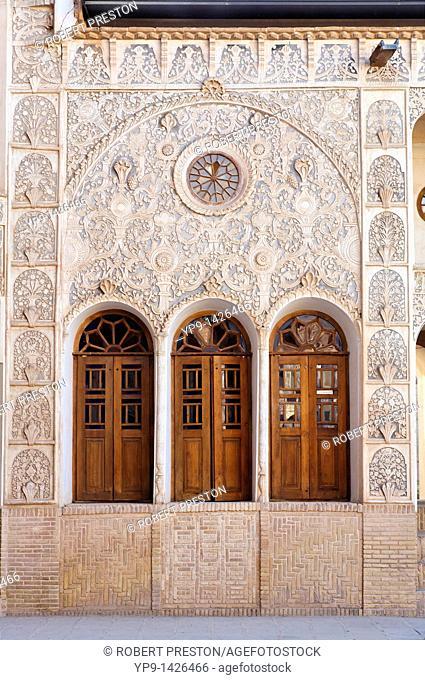 The Tabatabiyeh traditional merchant's residence, Kashan, Iran