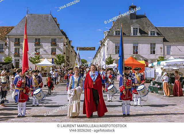 Cape and Sword Festival of Richelieu, Canton of Chinon, Indre-et-Loire Department, Centre-Val de Loire Region, Loire valley, France, Europe