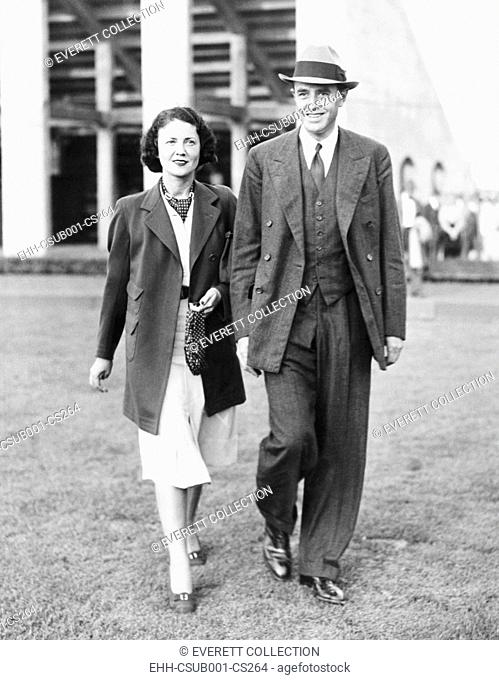 W. Averill Harriman and his wife, Marie Norton Whitney Harriman, Sept. 11, 1937. The couple wed in 1930, the second marriage for both
