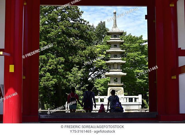 Yahima-ji temple near Takamatsu, Shikoku island, Japan, Asia